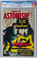 Silver Age (1956-1969):Science Fiction, Tales to Astonish #2 (Marvel, 1959) CGC VG/FN 5.0 Off-whitepages....