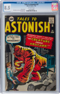 Silver Age (1956-1969):Horror, Tales to Astonish #25 (Marvel, 1961) CGC VF+ 8.5 Off-white pages....
