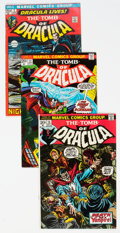 Bronze Age (1970-1979):Horror, Tomb of Dracula Near Complete Range Group of 50 (Marvel, 1972-76) Condition: Average FN/VF.... (Total: 50 )