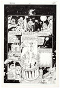 Original Comic Art:Panel Pages, George Perez and Bob McLeod The New Titans #51 Page 8Original Art (DC, 1988)....