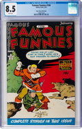Golden Age (1938-1955):Miscellaneous, Famous Funnies #198 Mile High Pedigree (Eastern Color, 1952) CGC VF+ 8.5 White pages....
