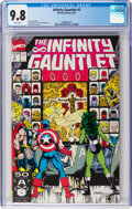 Modern Age (1980-Present):Superhero, The Infinity Gauntlet #2 (Marvel, 1991) CGC NM/MT 9.8 Whitepages....