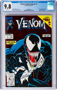 Venom: Lethal Protector #1 (Red holo-grafx foil cover) (Marvel, 1993) CGC NM/MT 9.8 White pages