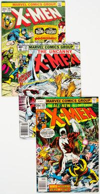X-Men Group of 10 (Marvel, 1972-86) Condition: Average FN/VF.... (Total: 10 )