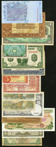 World Currency, World Group lot of 43 Examples that includes Belgium, France,Luxembourg, Switzerland and more Fine or better.. ... (Total: 43notes)