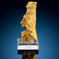 "Gold Nugget ""Screaming Man"" Kurnalpi Goldfield, Kalgoorlie-Boulder Shire Western Australia"
