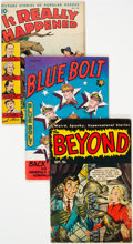 Golden Age (1938-1955):Miscellaneous, Golden Age Miscellaneous Comics Group of 4 (Various Publishers, 1945-53) Condition: Average GD/VG.... (Total: 4 )
