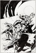 Original Comic Art:Covers, Mark Bagley Spider-Girl #2 Cover Spider-Man Original Art (Marvel/Panini, 1999)....