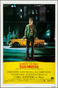 "Movie Posters:Crime, Taxi Driver (Columbia, 1976). Folded, Very Fine+. One Sheet (27"" X 41""). Guy Pellaert Artwork. Crime.. ..."