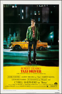 "Taxi Driver (Columbia, 1976). Folded, Very Fine+. One Sheet (27"" X 41""). Guy Pellaert Artwork. Crime"