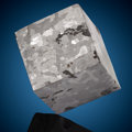 Meteorites:Irons, Campo del Cielo Meteorite Cube. Iron, IAB-MG. Chaco, Argentina. Found: 1576. ...