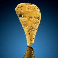 Gold Nugget Bendigo Goldfields City of Greater Bendigo Victoria, Australia<
