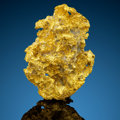 Minerals:Golds, Crystallized Gold. Presumed Sierra County. California, USA. ...