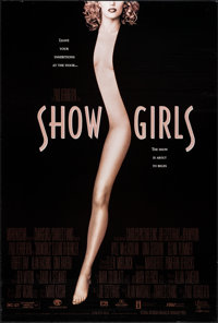 """Showgirls & Other Lot (MGM/UA, 1995). Rolled, Very Fine+. One Sheets (2) (27"""" X 40"""") DS . Sexploitatio..."""