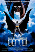 "Movie Posters:Animation, Batman: Mask of the Phantasm & Other Lot (Warner Bros., 1993). Rolled, Very Fine+. One Sheet (27"" X 40.25"") & Poster (24"" X ... (Total: 2 Items)"