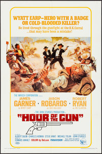 "Hour of the Gun & Other Lot (United Artists, 1967). Folded, Overall: Very Fine-. One Sheets (3) (27"" X 41&q..."