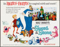 """Movie Posters:Animation, The Sword in the Stone & Other Lot (Buena Vista, 1963). Rolled, Overall: Very Fine. Half Sheets (2) (22"""" X 28""""). Animation.... (Total: 2 Items)"""