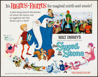 "The Sword in the Stone & Other Lot (Buena Vista, 1963). Rolled, Overall: Very Fine. Half Sheets (2) (22"" X..."