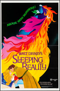 "Sleeping Beauty (Buena Vista, R-1979). Flat Folded, Very Fine+. One Sheet (27"" X 41"") Style A. Animation"