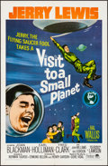 "Movie Posters:Comedy, Visit to a Small Planet (Paramount, R-1966). Folded, Very Fine. OneSheet (27"" X 41"") & Lobby Cards (6). Comedy.. ... (Total: 7Items)"