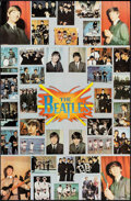 """Movie Posters:Rock and Roll, The Beatles (One Stop Posters, 1976). Rolled, Very Fine. Commercial Poster (23"""" X 35.5""""). Rock and Roll.. ..."""