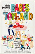 "Movie Posters:Musical, Babes in Toyland (Buena Vista, 1961). Flat Folded, Very Fine. OneSheet (27"" X 41""). Musical.. ..."