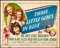 "Movie Posters:Musical, Three Little Girls in Blue & Other Lot (20th Century Fox,1946). Folded, Fine/Very Fine. Half Sheets (2) (22"" X 28"").Musica... (Total: 2 Items)"