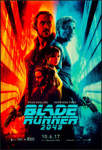 """Blade Runner 2049 (Warner Brothers, 2017). Rolled, Near Mint. One Sheet (27"""" X 40""""). Science Fiction"""
