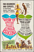 "Movie Posters:Comedy, How to Stuff a Wild Bikini (American International, 1965). Folded, Very Fine-. One Sheet (27"" X 41""). Comedy.. ..."