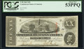Confederate Notes:1863 Issues, T58 $20 1863 PF-24 Cr. 424 PCGS About New 53PPQ.. ...