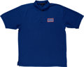 Explorers:Space Exploration, Neil Armstrong's Personally Owned and Worn U.S.O. Polo Shirt Directly From The Armstrong Family Collection™, CAG Certified....