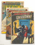 Golden Age (1938-1955):Horror, Adventures Into the Unknown Group (ACG, 1950-63) Condition: GD-.This group contains issues #11, 36, 91, 100, 102, 104, 105,...(Total: 16 Comic Books Item)
