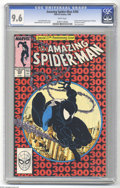 Modern Age (1980-Present):Superhero, The Amazing Spider-Man #300 (Marvel, 1988) CGC NM+ 9.6 White pages.Origin and first full appearance of Venom. Last time Spi...