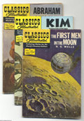 Silver Age (1956-1969):Classics Illustrated, Classics Illustrated Group (Gilberton, 1957-69) Condition: AverageGD-. This box lot contains 61 Classics Illustrated is...