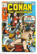 Bronze Age (1970-1979):Miscellaneous, Conan the Barbarian #2 and 3 Group (Marvel, 1970-71) Condition: FN+. Barry Windsor-Smith covers and art. Approximate Overstr... (Total: 2 Comic Books Item)