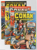 Bronze Age (1970-1979):Miscellaneous, Conan the Barbarian #2-11 Group (Marvel, 1970-71) Condition:Average VG+. Issues # 2, 3, 4, 5, 6, 7, 8, 9, 10, and 11 are in...(Total: 10 Comic Books Item)