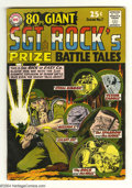 Silver Age (1956-1969):War, 80 Page Giant #7 Sgt. Rock's Prize Battle Tales (DC, 1965) Condition: VG/FN. Joe Kubert cover and art. Overstreet 2004 VG 4....