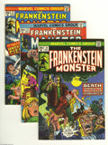 Bronze Age (1970-1979):Horror, Frankenstein Group (Marvel, 1974-75) Condition: Average VF. Thisgroup includes #10, 12, 13, 14, 15, 16, and 18. Approximate...(Total: 7 Comic Books Item)