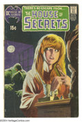 Bronze Age (1970-1979):Horror, House of Secrets #92 (DC, 1971) Condition: VG. First appearance andorigin of Swamp Thing. Bernie Wrightson cover. Wrightson...