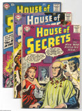 Silver Age (1956-1969):Mystery, House of Secrets Group (DC, 1956-62). Four books from thishorror-sci fi series include #5, 8, 12, and 54. #5 is in GD+,the... (Total: 4 Comic Books Item)