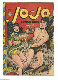 Jo-Jo Comics #22 (Fox Features Syndicate, 1948) Condition: FR/GD. Jack Kamen cover. Matt Baker art. Pieces missing from...