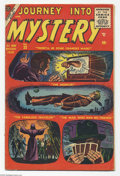 Silver Age (1956-1969):Horror, Journey Into Mystery #33 (Atlas, 1956) Condition: VG. Al Williamsonand Steve Ditko (possibly his first for Atlas) art. Over...