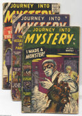Golden Age (1938-1955):Horror, Journey Into Mystery #9, 10, 51, and 54 Group (Atlas/Marvel,1953-59) Condition: Average FR. Four issues in this lot include...(Total: 4 Comic Books Item)