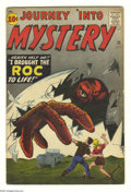 Golden Age (1938-1955):Horror, Journey Into Mystery #71 and 72 Group (Marvel, 1961) Condition: VG.This group contains issues #71 and 72. Jack Kirby covers... (Total:2 Comic Books Item)