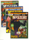 Bronze Age (1970-1979):Horror, Journey Into Mystery (2nd Series) Group (Marvel, 1972) Condition:Average FN/VF. This group includes # 4, 5, 6, 7, 8, 9, 10,...(Total: 13 Comic Books Item)