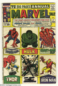 Silver Age (1956-1969):Superhero, Marvel Tales #1 (Marvel, 1964) Condition: VG+. Reprints the origins of Spider-Man, the Hulk, Ant-Man, Giant-Man, Iron Man, T...