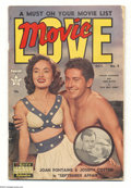 Golden Age (1938-1955):Romance, Miscellaneous Golden Age Romance Group (Various, 1950-51). This group includes Movie Love #5 (VG) and Perfect Love #... (Total: 2 Comic Books Item)