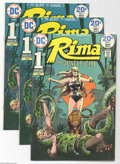 Bronze Age (1970-1979):Miscellaneous, Rima the Jungle Girl Group (DC, 1974) Condition: Average VF.Featured in this lot are ten copies of issue #1 of the Bronze A...(Total: 10 Comic Books Item)