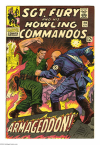 Sgt. Fury and His Howling Commandos #29 (Marvel, 1966) Condition: VF/NM. Jack Kirby cover. Dick Ayers art. Approximate O...