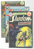 Bronze Age (1970-1979):Miscellaneous, The Shadow Group (DC, 1973-75) Condition: Average VG. This lot ofthe Bronze Age DC comic book adaptation of the classic pul...(Total: 19 Comic Books Item)